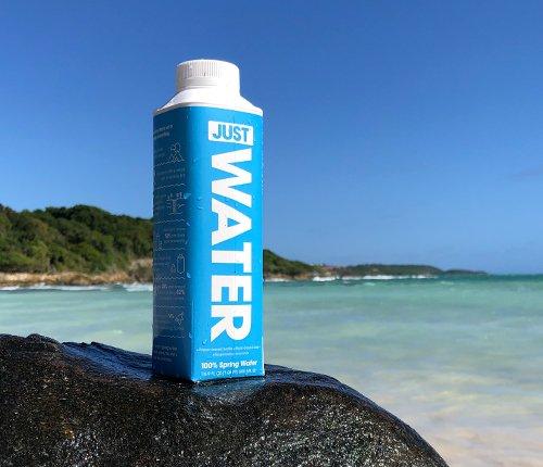 Resultado de imagem para just water brasil